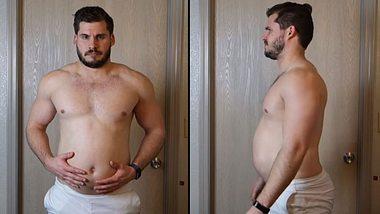Hunter Hobbs verliert 19 Kilo in drei Monaten - Foto: YuoTube / Hunter Hobbs