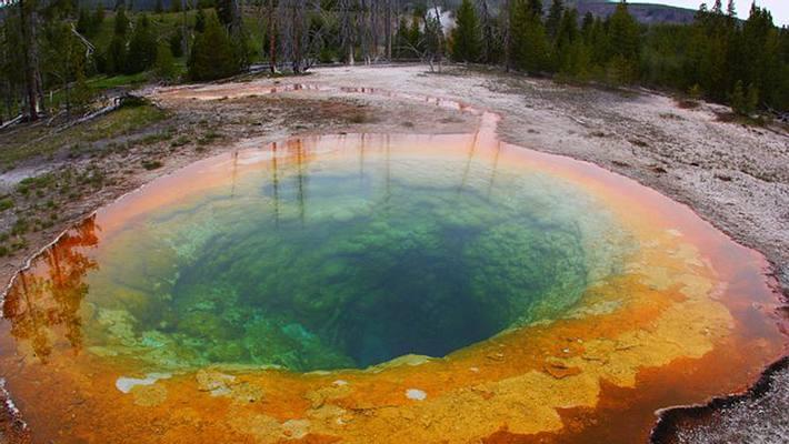 Ein Mann hat sich im Yellowstone Nationalpark in einer heißen Säure-Quelle aufgelöst - Foto: FLICKR/DAVEYNIN