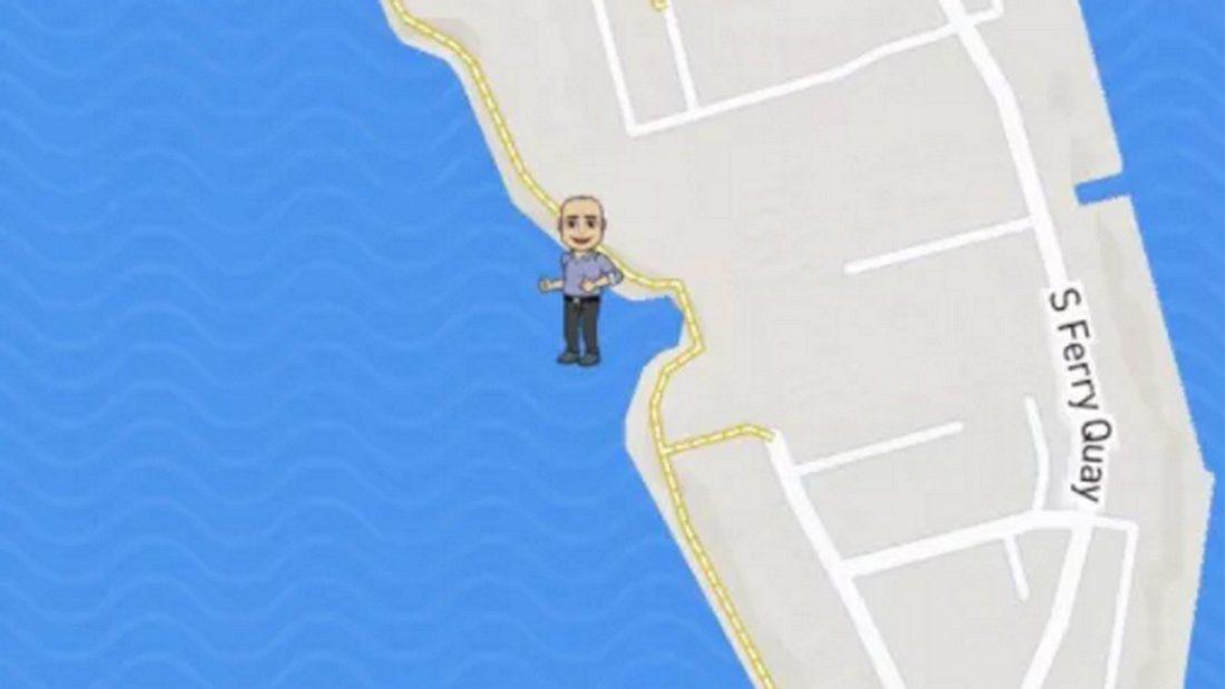 Snapchat-Fauxpas: Ein englischer Fotograf steckt im Matsch des River Mersey in Liverpool fest