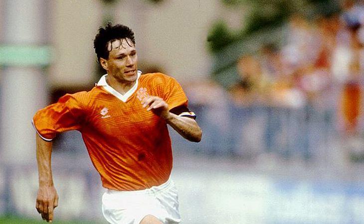 Marco van Basten gehörte zu den Besten