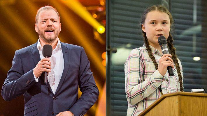 Mario Barth hat eine klare Meinung zu Greta Thunberg und Fridays for Future (Collage) - Foto: Getty Images/Michael Gottschalk, Getty Images/Leon Neal