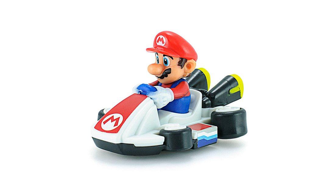Mario Kart bald auch auf dem Smartphone.