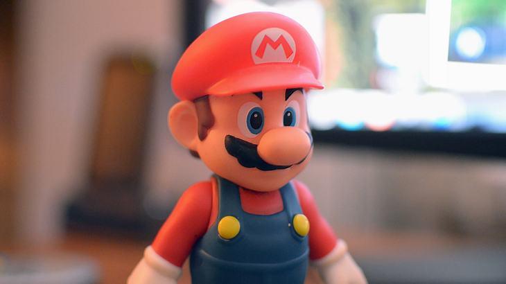 Nintendos beliebte Spielfigur Mario