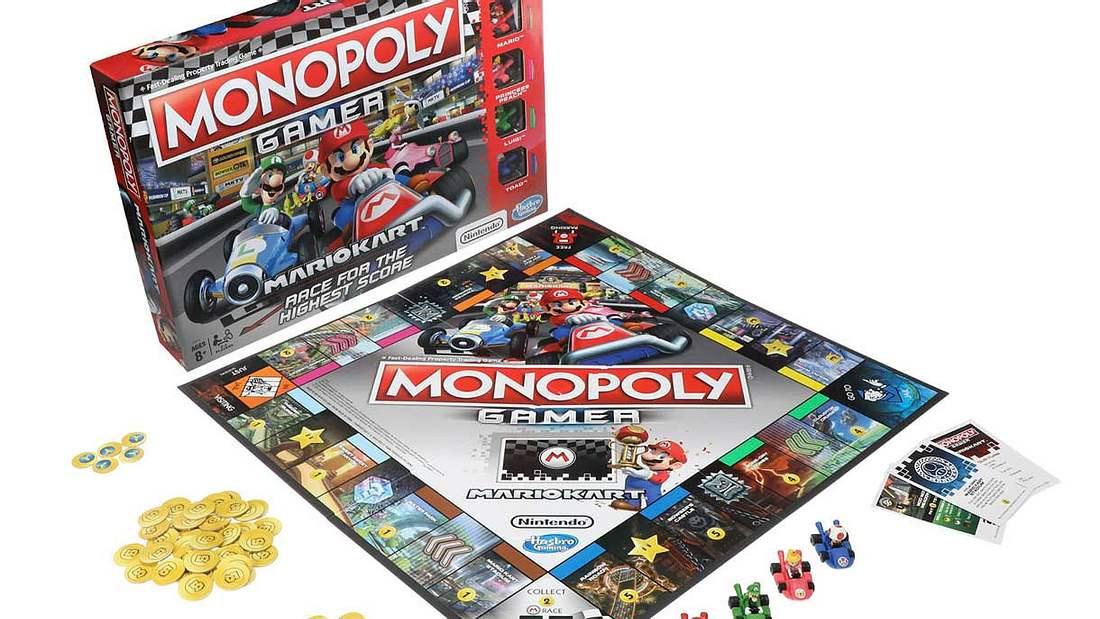 Monopoly gibt's jetzt in der Super-Mario-Edition
