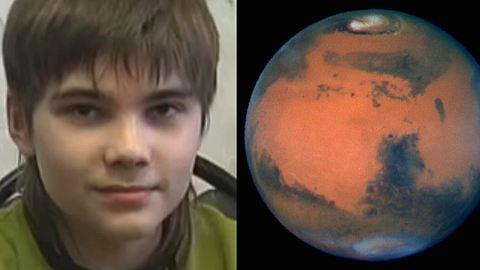 Boris Kipriyanovich ist der Mars-Junge - Foto: Project Camelot/NASA