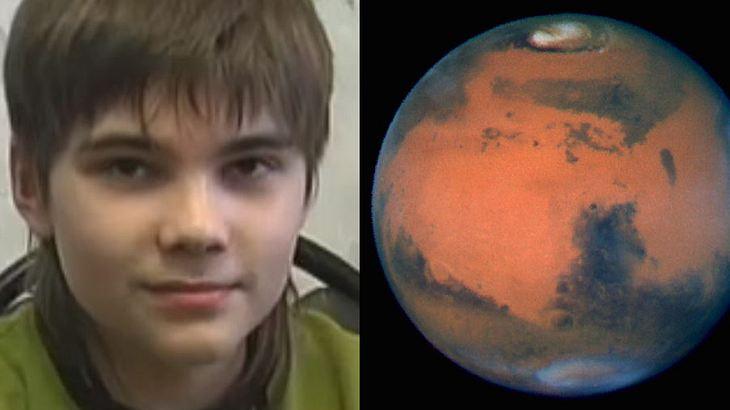 """Boris Kipriyanovich ist der """"Mars-Junge"""""""