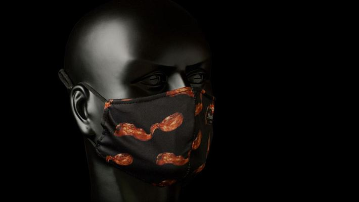 Endlich: Maske mit Bacon-Duft erhältlich