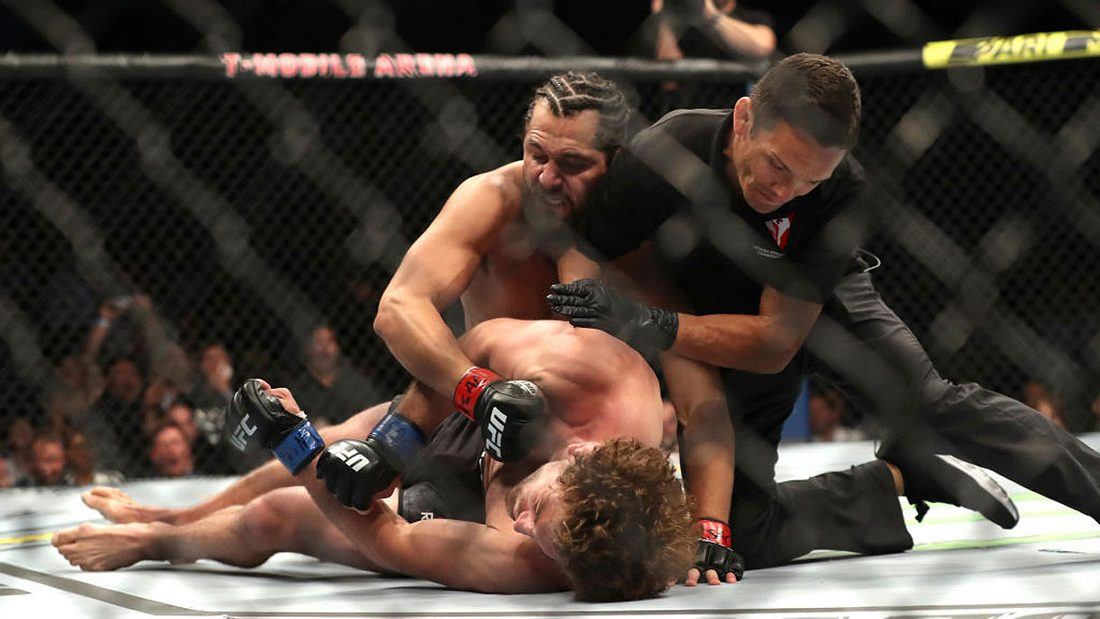 Jorge Masvidal erzielte gegen Ben Askren den schnellsten Knockout der UFC-Geschichte