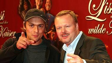 Max Mutzke und Stefan Raab - Foto: Johannes Simon / Getty Images