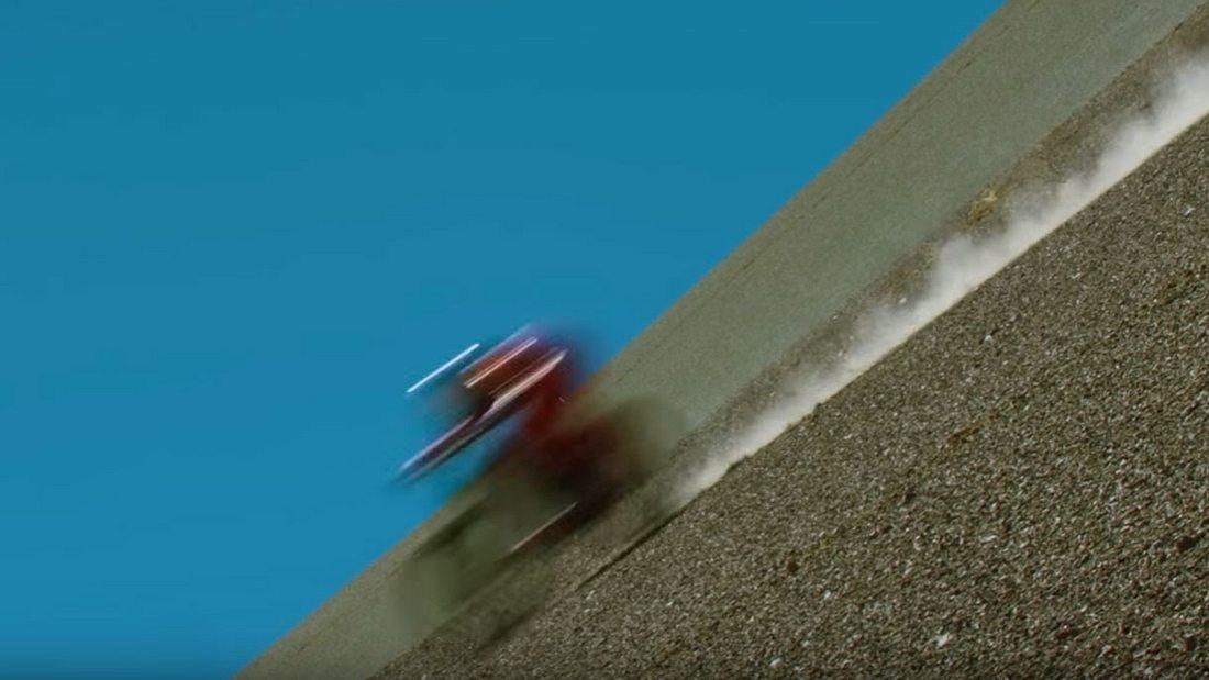 Mountainbiker Max Stöckel überbot seinen eigens aufgestellten Geschwindigkeitsweltrekord von 2012