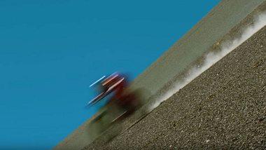 Speed-Weltrekord auf dem Downhill-Bike gefilmt