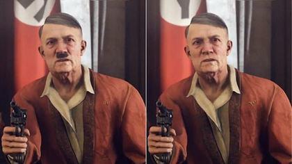 Hitler zensiert ohne Bart - Foto: youtube/censored gaming
