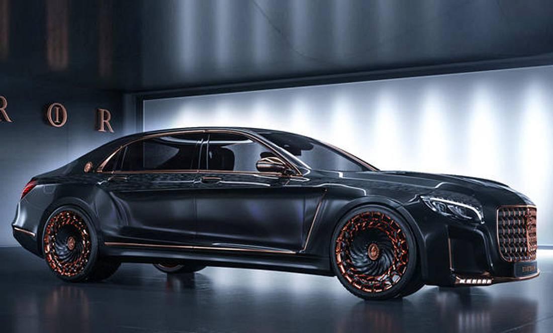 900 PS purer Luxus: Der Mercedes-Maybach S600 Emperor