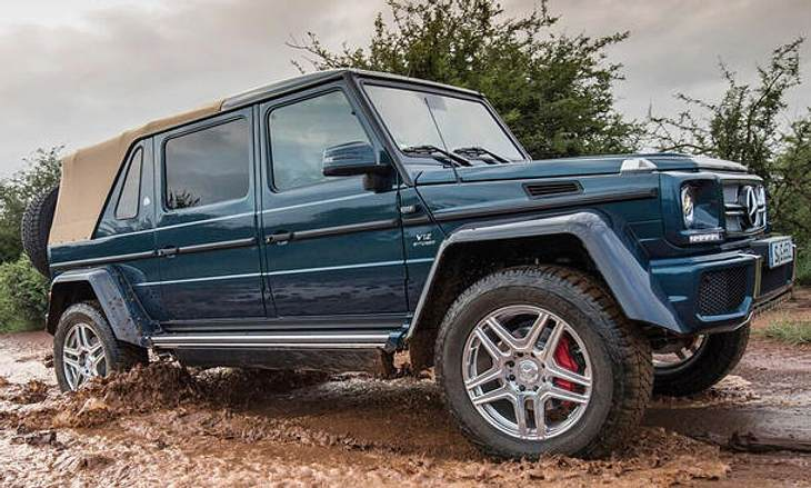 Luxus-Offroader: Mercedes-Maybach G 650 Landaulet