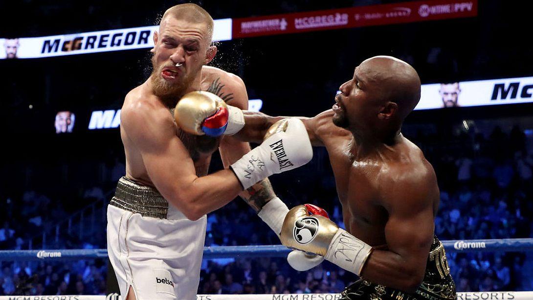 Schon wieder: Floyd Mayweather schlägt Conor McGregor