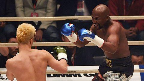 Mayweather deklassiert Kickboxweltmeister