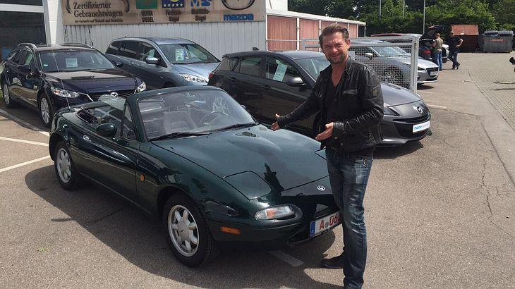 Det Müller von Grip: Seine Kaufberatung für den Mazda MX5 NA kann Gold wert sein