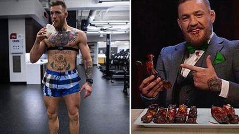 Killer-Diät: Das isst Conor McGregor vor dem Mayweather-Fight