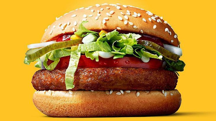 Endlich! Vegana Burger im McDonald's