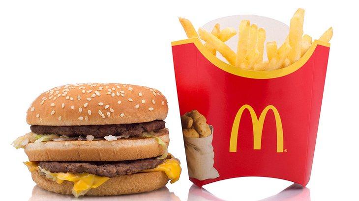 McDonalds Valentinstag Menü