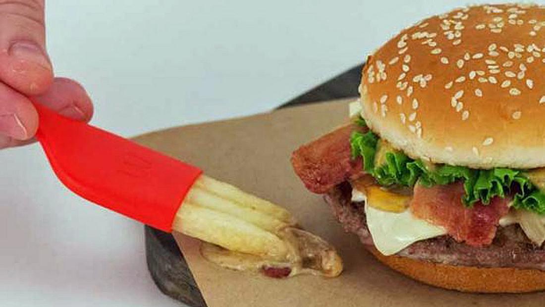 The Frork: McDonald's kombiniert Pommes und Gabel