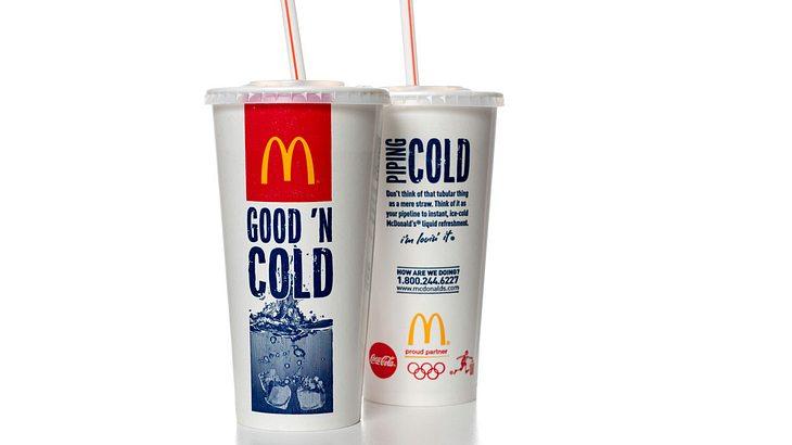 Ausgesaugt: McDonald\'s verbietet Plastik-Strohhalme