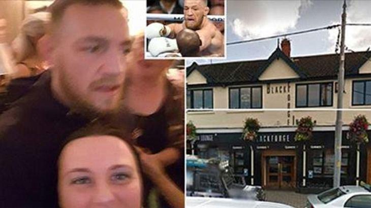 Conor McGregor soll sich in einem Pub in Dublin mit der irischen Mafia geprügelt haben