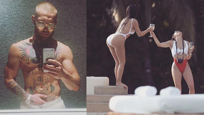 onor McGregor äußert sich in einem GQ-Interview zu den Kardashians - Foto: Instagram/thenotoriousmma; Instagram/KimKardashianWest