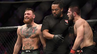 Conor Mcgregor gegen Khabib Nurmagomedov bei UFC 229 - Foto: Harry How/Getty Images