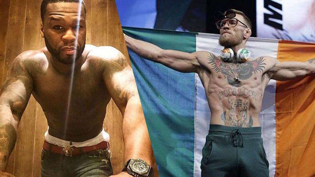 50 Cent und Conor McGregor - Foto: Instagram / 50cent / thenotoriousmma