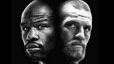 Mayweather gegen  McGregor: Money pokert!