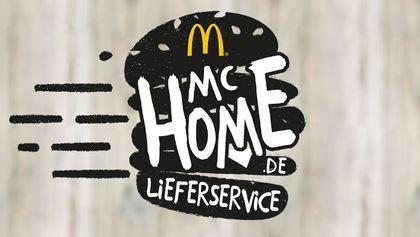 Untrer dem Namen McHome liefert McDonalds seine Produkte demnächst zu seinen Kunden nach Hause - Foto: McHome (Screenshot/Website)