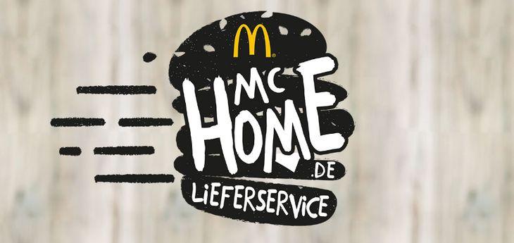 Untrer dem Namen McHome liefert McDonalds seine Produkte demnächst zu seinen Kunden nach Hause