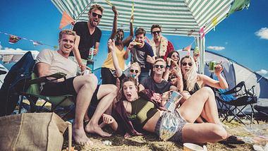 Gehört zum Festival dazu: Das Campen - Foto: melt / Johannes Riggelsen