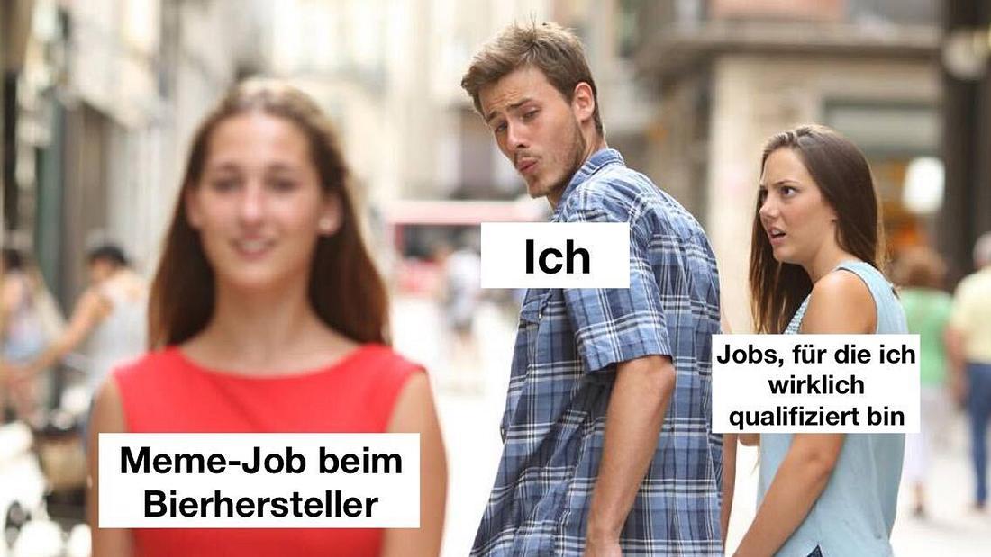 Meme-Job Männersache