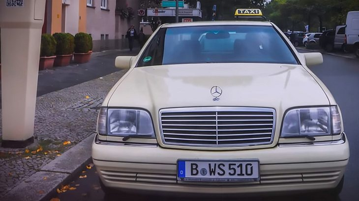 Dieser Mercedes S600 ist Berlins fettestes Taxi