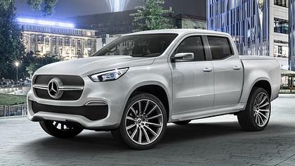 X-Class: Mercedes Benz baut Premium-Pick-up