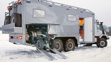 Mercedes-Benz Zestros: Ein Wohnmobil für echte Männer - Foto: Mercedes-Benz