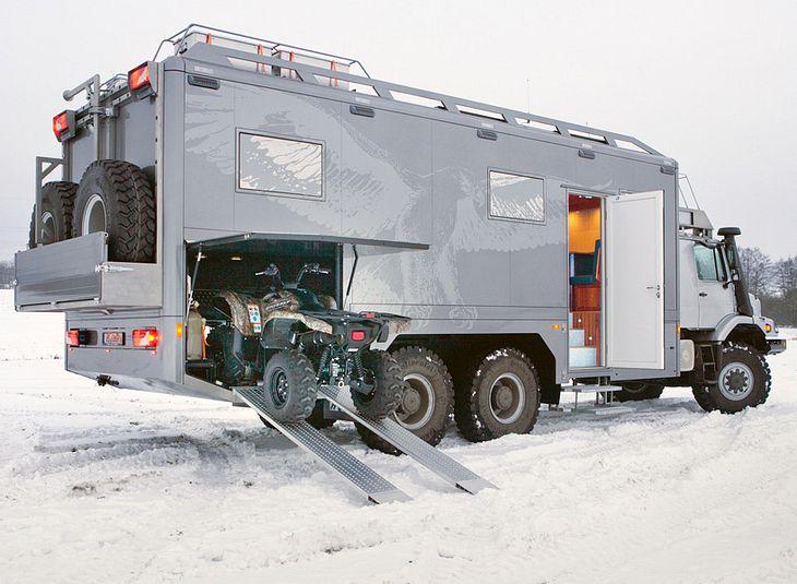 Mercedes Benz Quot Zestros Quot Ein Wohnmobil F 252 R Echte M 228 Nner