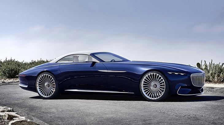 Futuristisches Concept Car: Der Mercedes-Maybach 6
