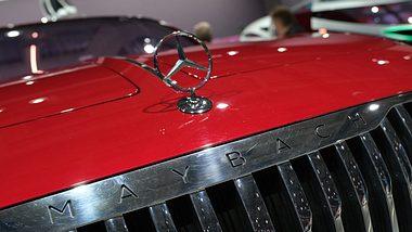 Mercedes-Maybach-SUL, Kühlergrill - Foto: Getty Images / Sean Gallup