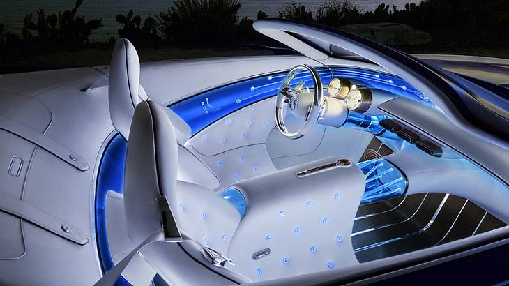 Futuristisches Concept Car: Der Mercedes-Maybach 6