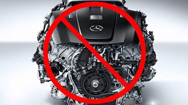 Mercedes verkündet Aus für Vebrennungsmotoren