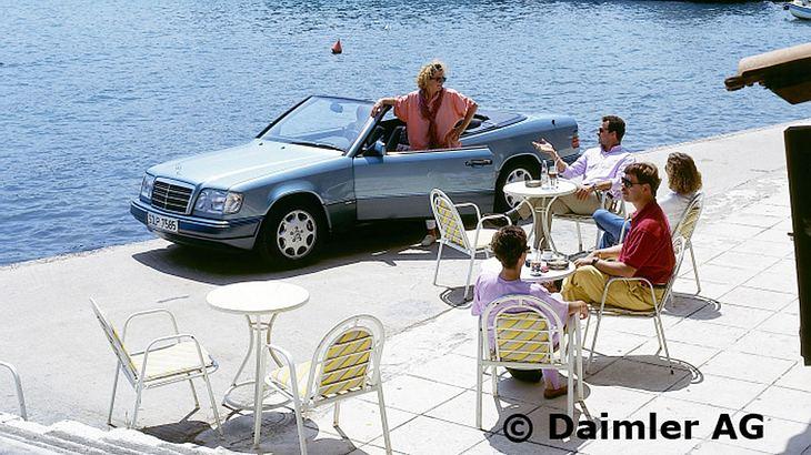 Das Mercedes W124 Cabrio punktet mit jeder Menge Coolness