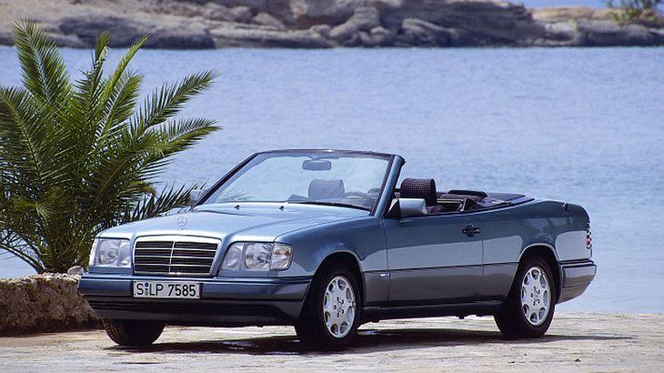 elegant und ernst zu nehmen der mercedes w124 cabrio. Black Bedroom Furniture Sets. Home Design Ideas