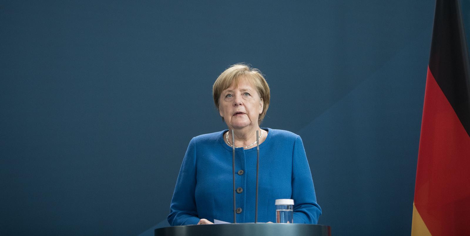 Merkel knallhart: Jetzt kommt der Lockdown-Hammer!