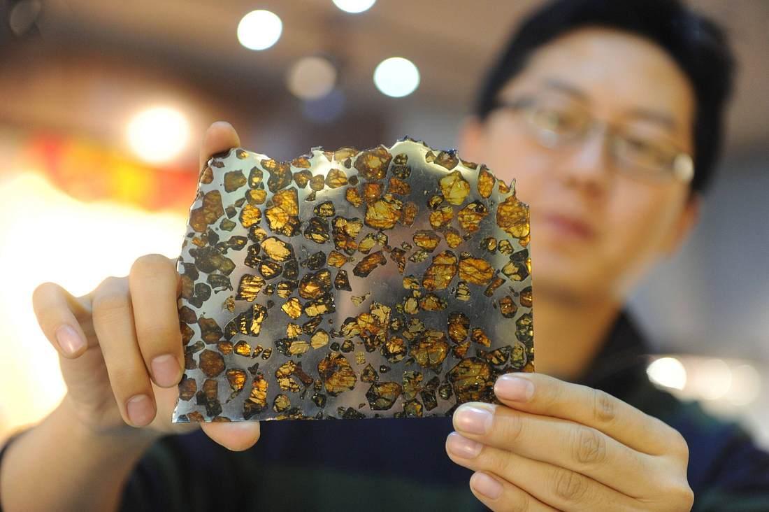 Meteoritenbruchstück