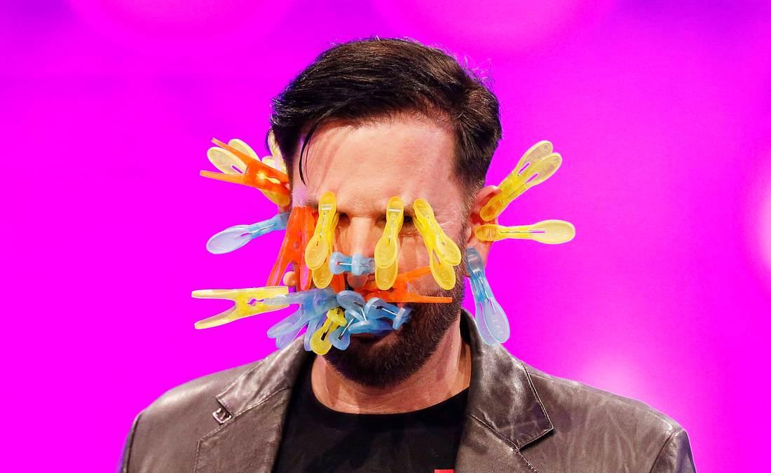 Michael Wendler in der RTL-Liveshow Pocher vs. Wendler – Schluss mit lustig!