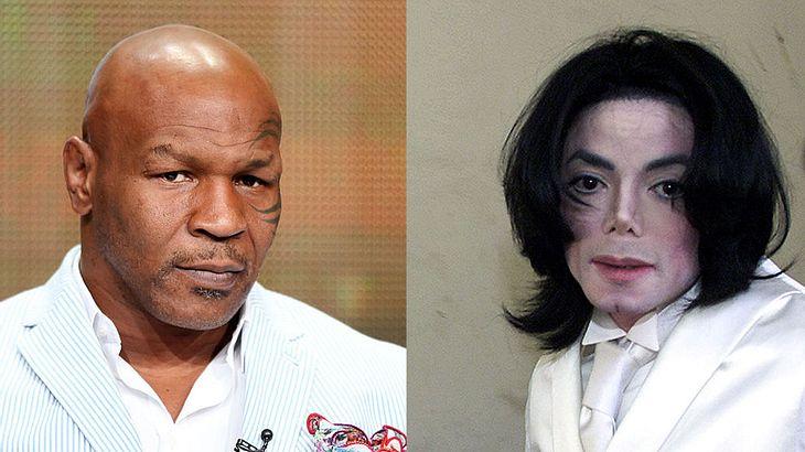 Mike Tyson hat sich zu Michael Jackson (†) geäußert (Collage).