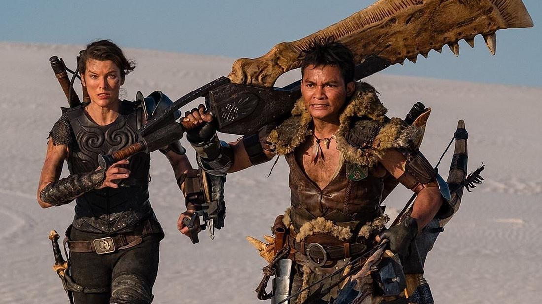 Milla Jovovich und Tony Jaa in Monster Hunter2